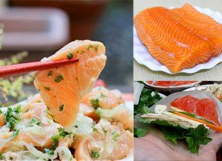 Cách làm món gỏi cá hồi sống đơn giản, dễ dàng làm ngay tại nhà