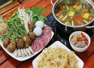 Nguyên liệu và cách nấu lẩu hột vịt lộn chua cay cực ngon